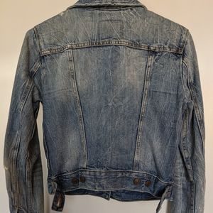 Levi's Jackets & Coats - One of a Kind Levi's Cropped Trucker Jacket, XS